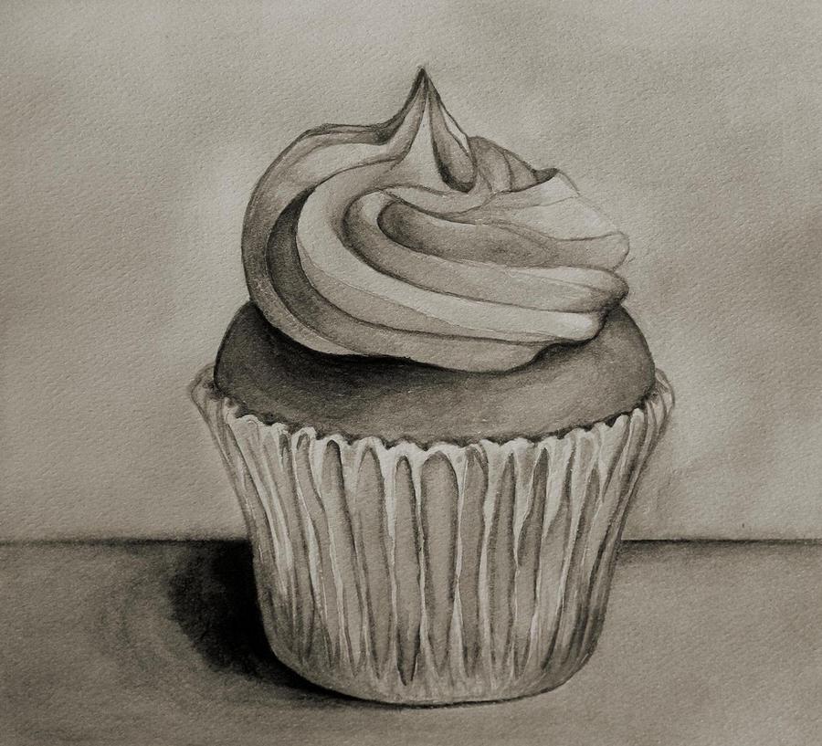 Shading A Cake Drawing