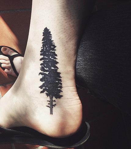 Pine Tree Tattoo by GalleryPiece on DeviantArt