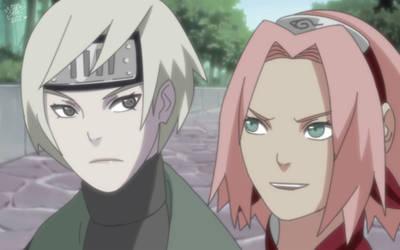 Sakura Haruno and Shanna by effasempai