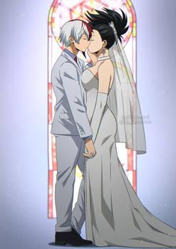 BNHA | Shoto Todoroki x Momo Yaoyorozu Wedding