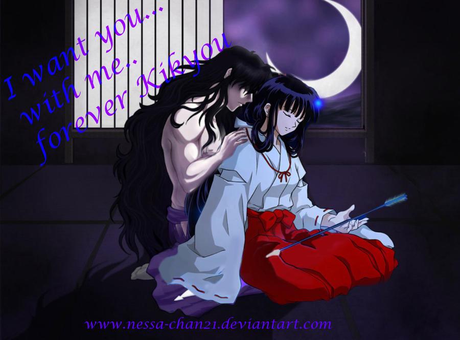 Naraku And Kikyou By Nessa Chan21
