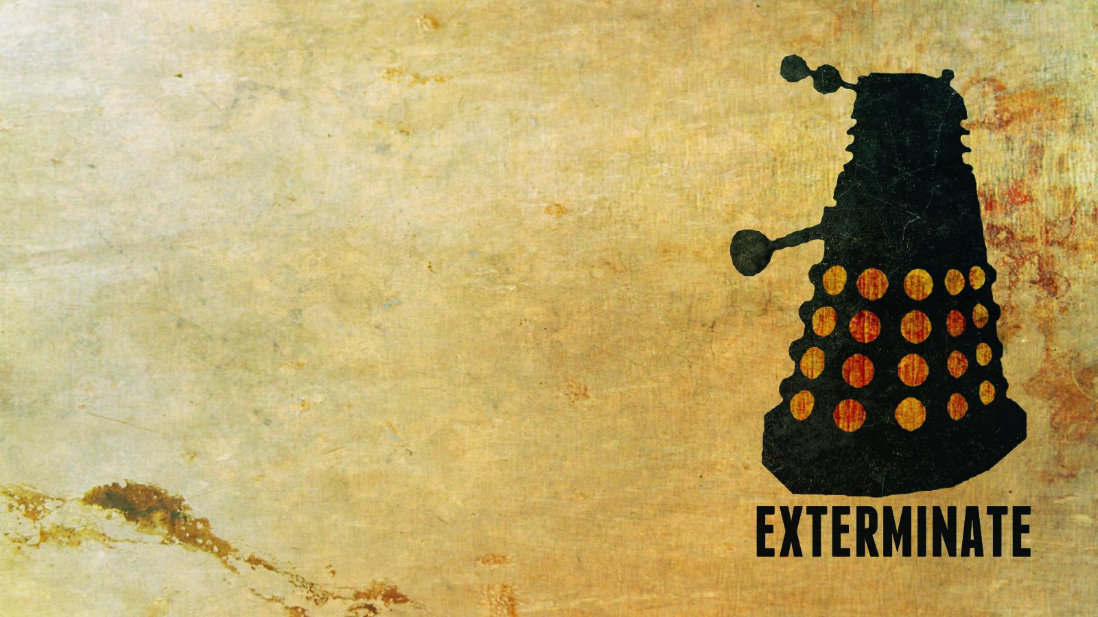 Doctor Who - Dalek Wallpaper by heggcnote on DeviantArt