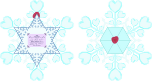 Snowflake Envelope from the Crystal Empire