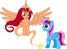 The Wisher and the Wished by Parcly-Taxel