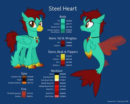 A Colour Scheme for Steel Heart