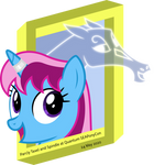 Parcly Taxel and Spindle at Quantum SEAPonyCon by Parcly-Taxel