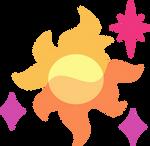 Princess Skysparkle's Cutie Mark by Parcly-Taxel