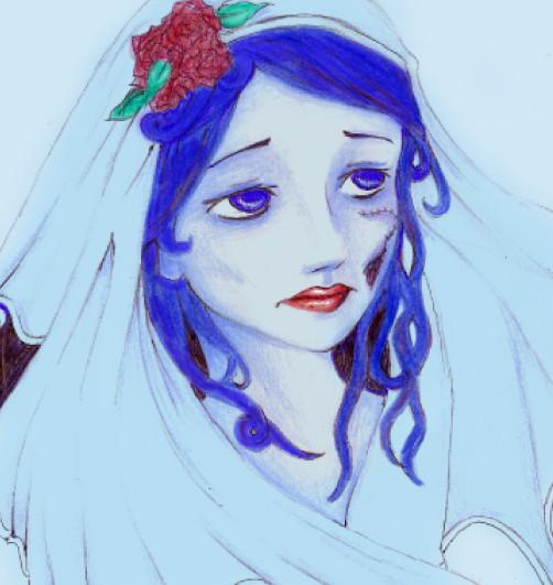 The corpse bride by Rozeria