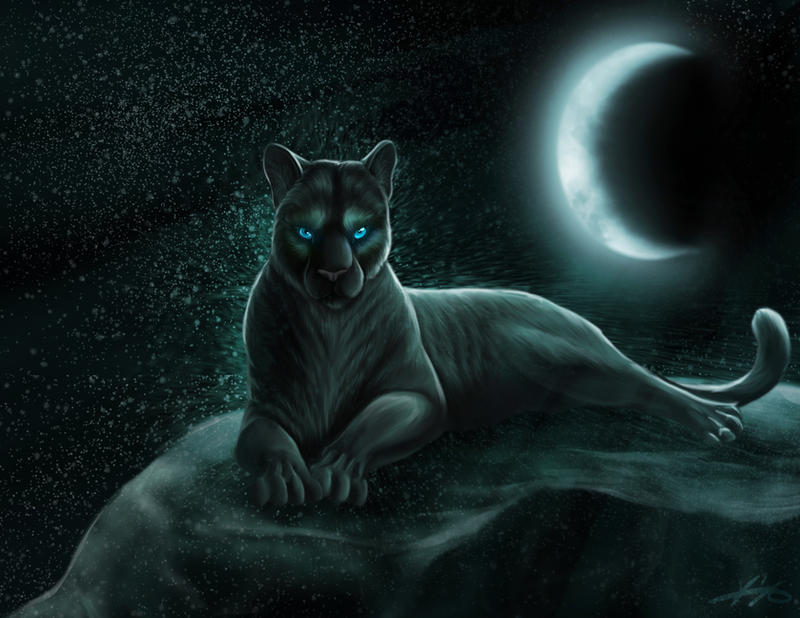 Panthera - Goddess of the Moon by GoldenPhoenix100