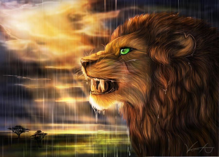 Rainstorm by GoldenPhoenix100
