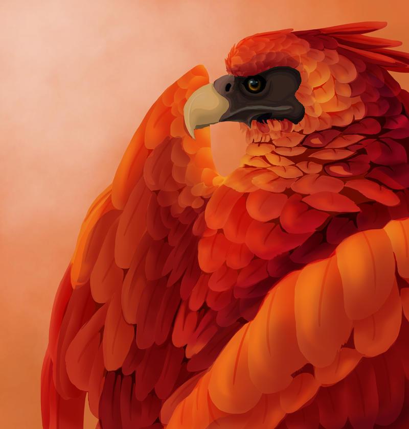 Ruffled Feathers by GoldenPhoenix100