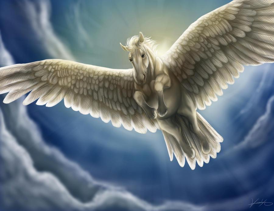 Pegasus by GoldenPhoenix100