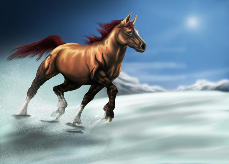 Equine Secret Santa - Brooke by Golphee