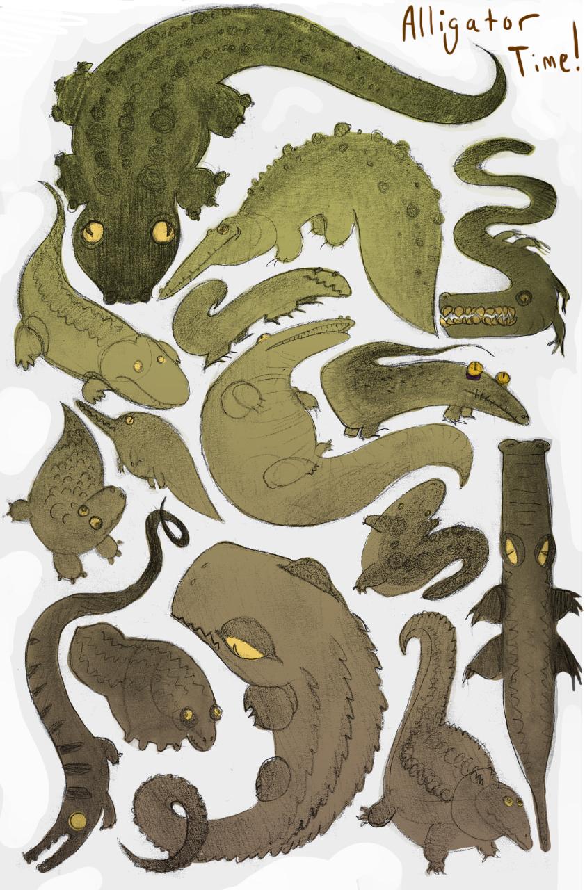 Alligator Time by redredundance