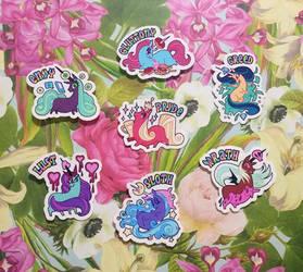 Seven Deadly Sin Ponies