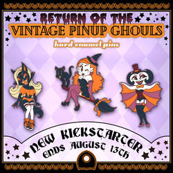 2019 Pinup Ghouls Banner