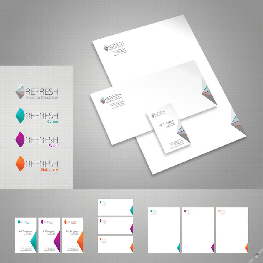 Graphic Design Stationery Store