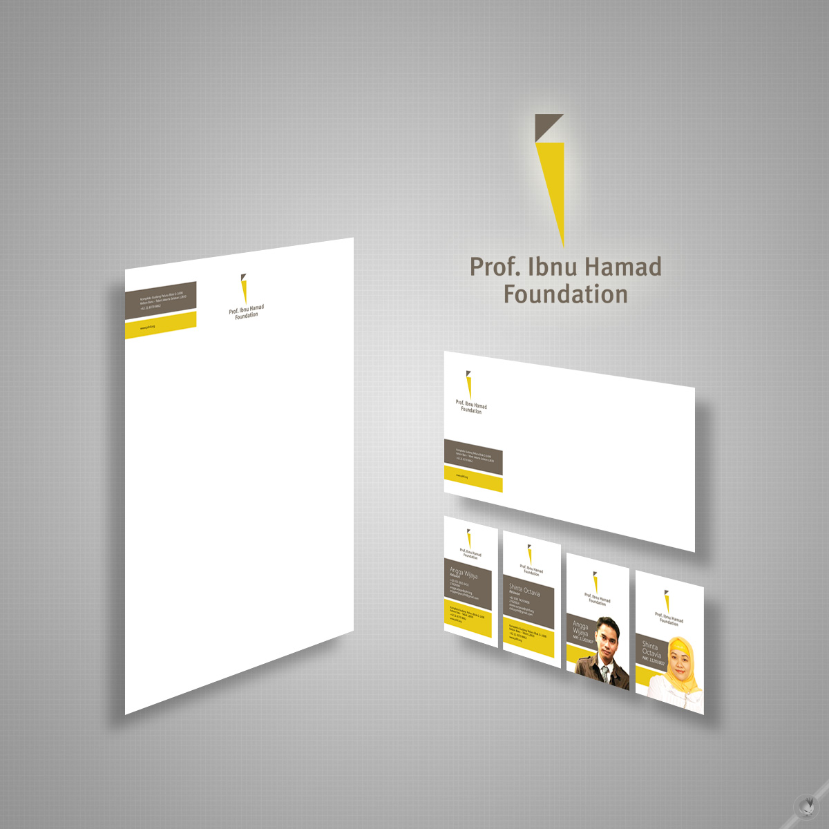 Prof. Ibnu Hamad Foundation - Brand Identity by ...