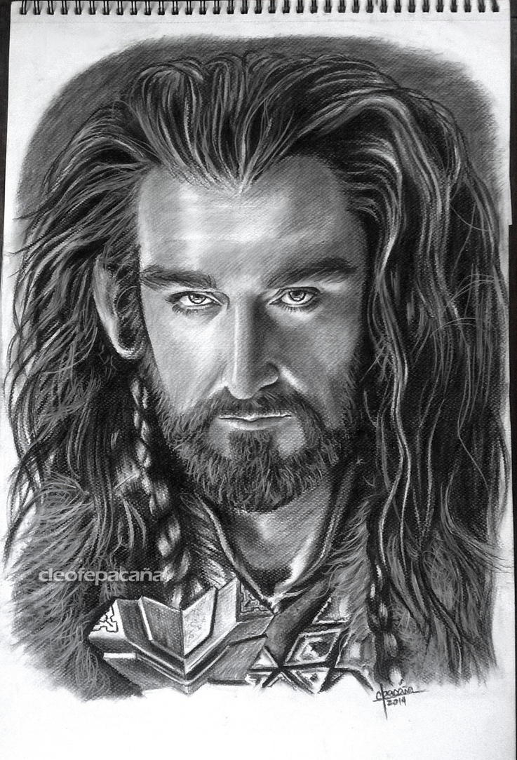 How To Draw Thorin Oakenshield In Pencil Step 11  Apps Directories