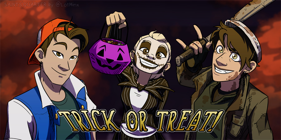 TWC Halloween Contest, SAINTS'QUARTER by CRFahey