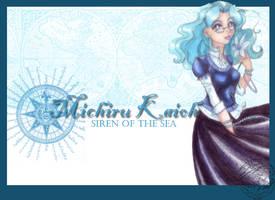 Michiru Kaioh by xxkorinxx