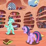Twilight learned a new spell