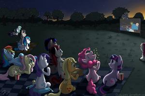 Movie night by Dracodile