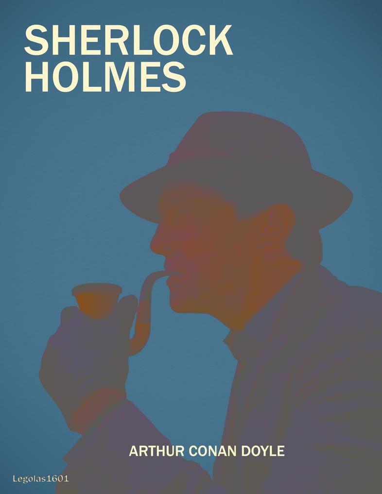 Sherlock Holmes Cover Book By Legolas1601 On DeviantArt