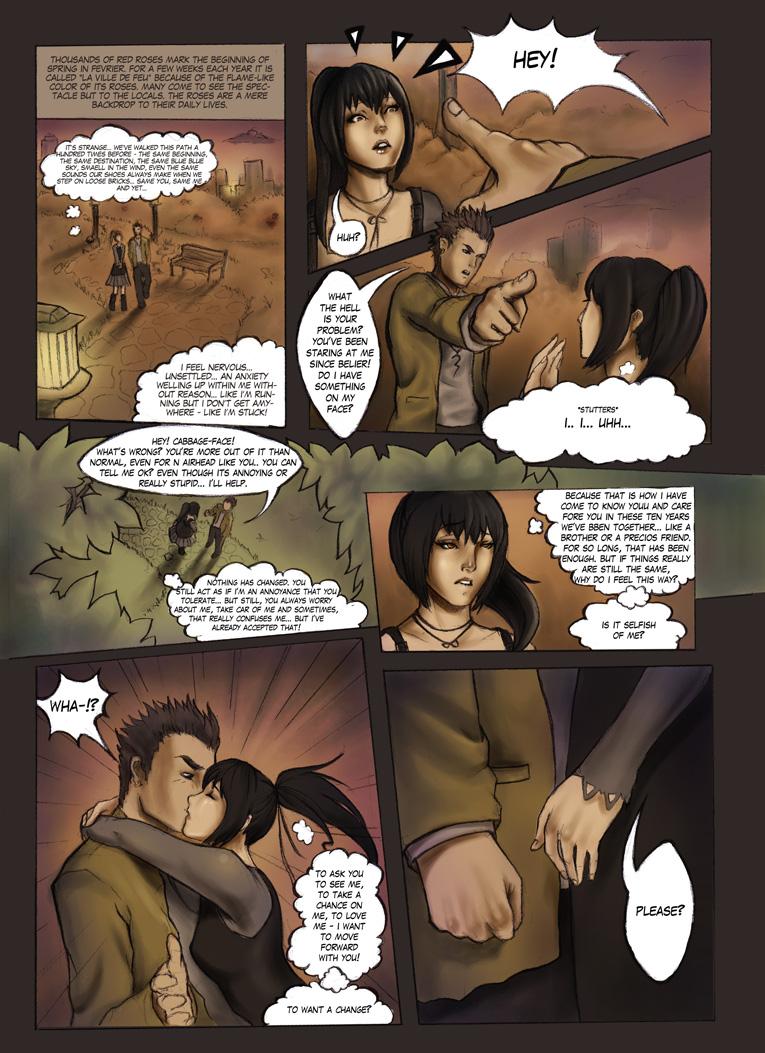 La Ville de Feu - Comics by BlackMageAlodia
