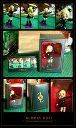 Auction Closed: Alodia Doll