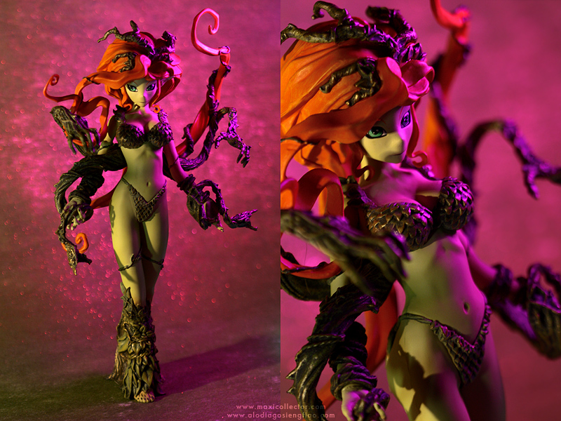 Anime Poison Ivy by BlackMageAlodia