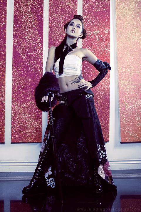 Yakuza Girl by BlackMageAlodia