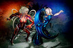 Witchblade: Amaha vs. Shiori