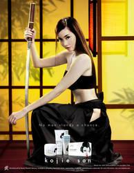 KojieSan Print Ad by BlackMageAlodia