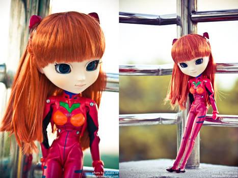 Asuka Langley Pullip Doll