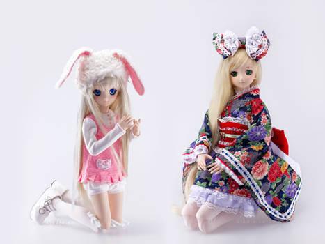 Kudo and Saber Lily