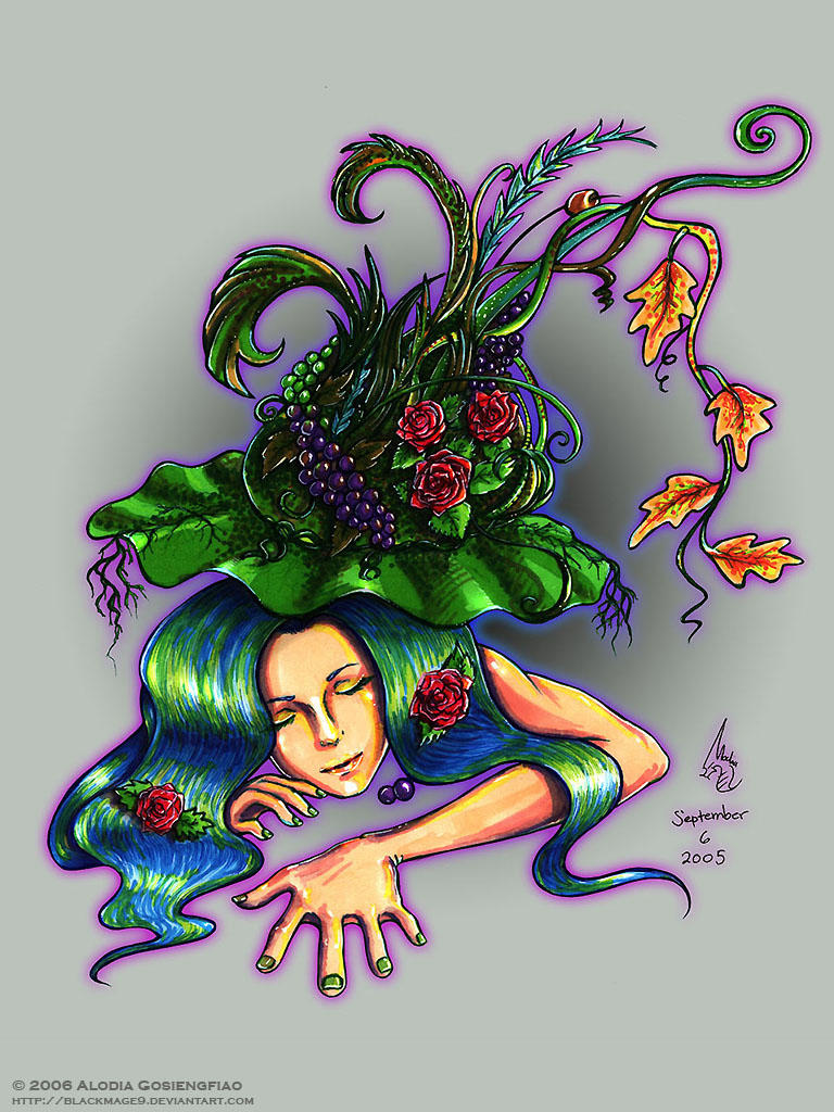 Dreaming Of Botany by BlackMageAlodia