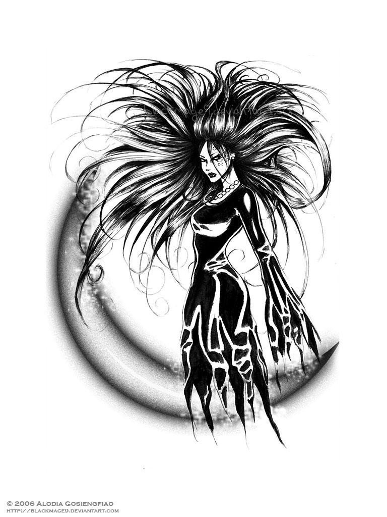 Chromatophobia Commission by BlackMageAlodia