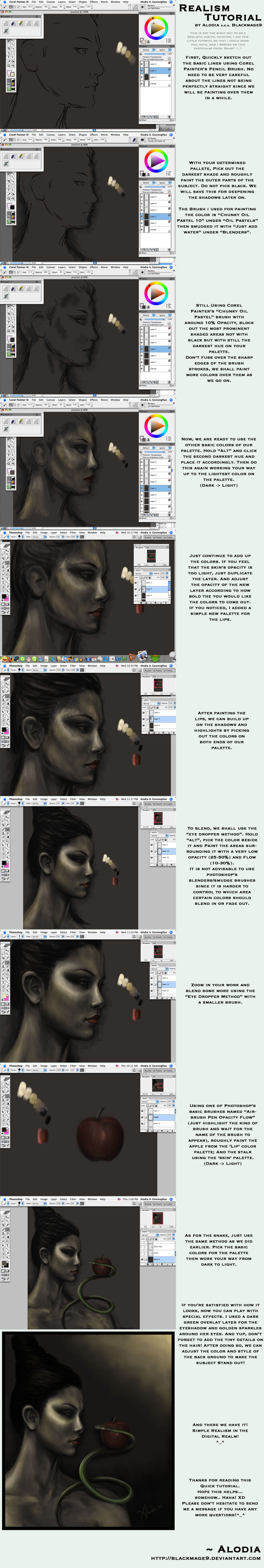 Temptation Realism Tutorial by BlackMageAlodia