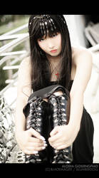 Goth Princess by BlackMageAlodia