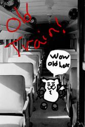 Old Train Max Visit by ErinBarnes