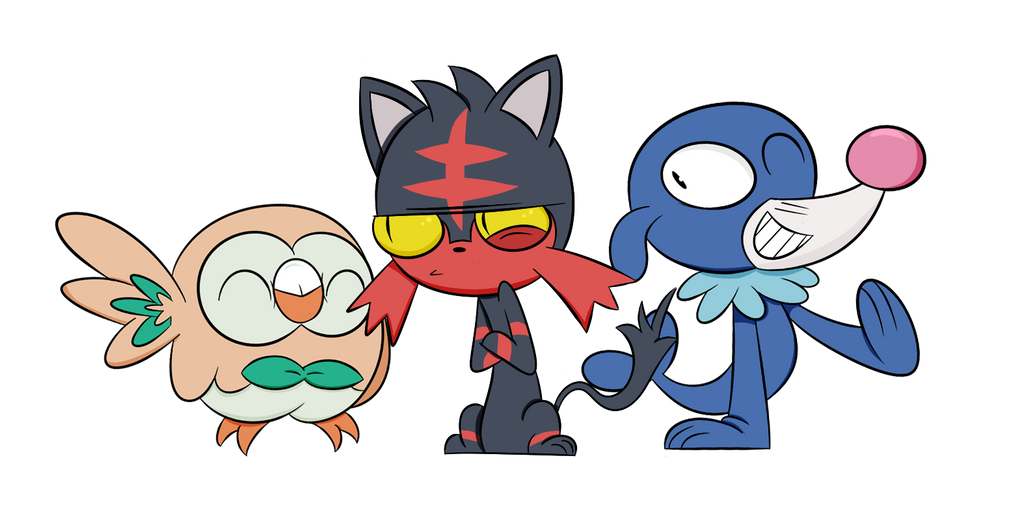 how to draw sun and moon pokemon