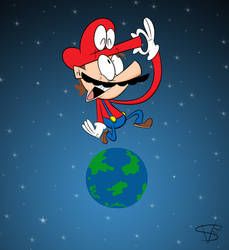Mario Odyssey by mexican64