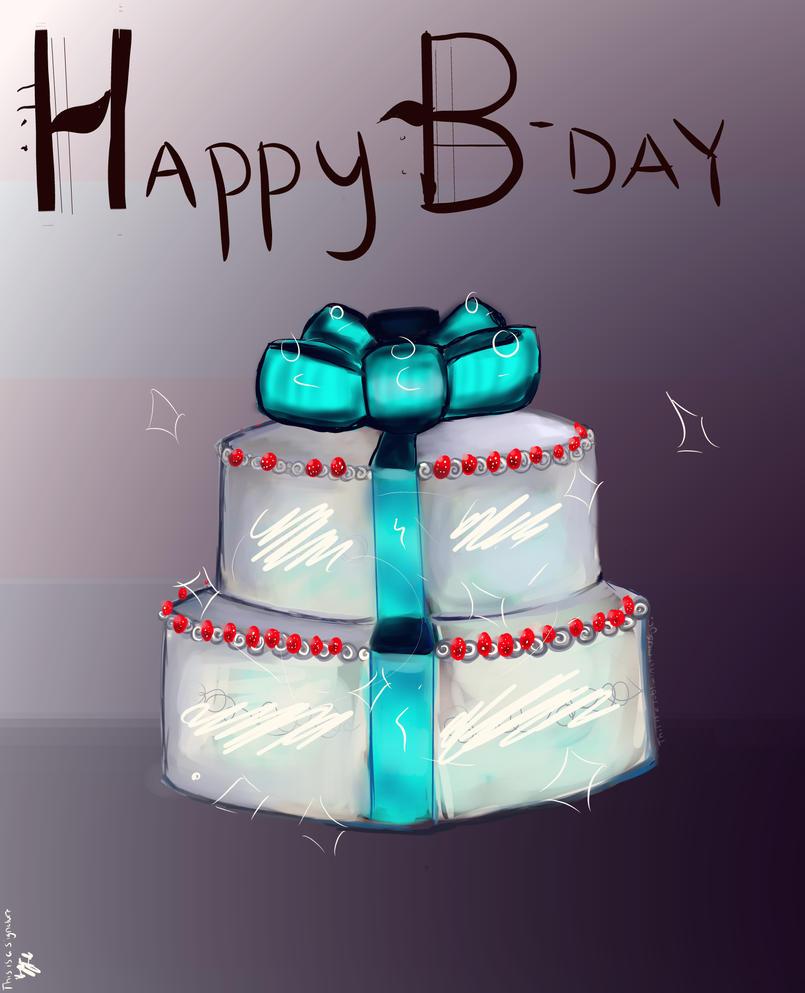 Happy Birthday by purplemushroompoison