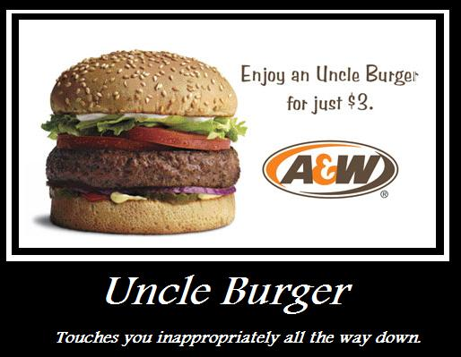 The Uncle Burger by ZombieT-Bag