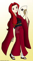 Eudial in Kimono