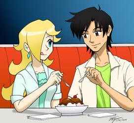 A Date with Rosalina by ArthurT2015