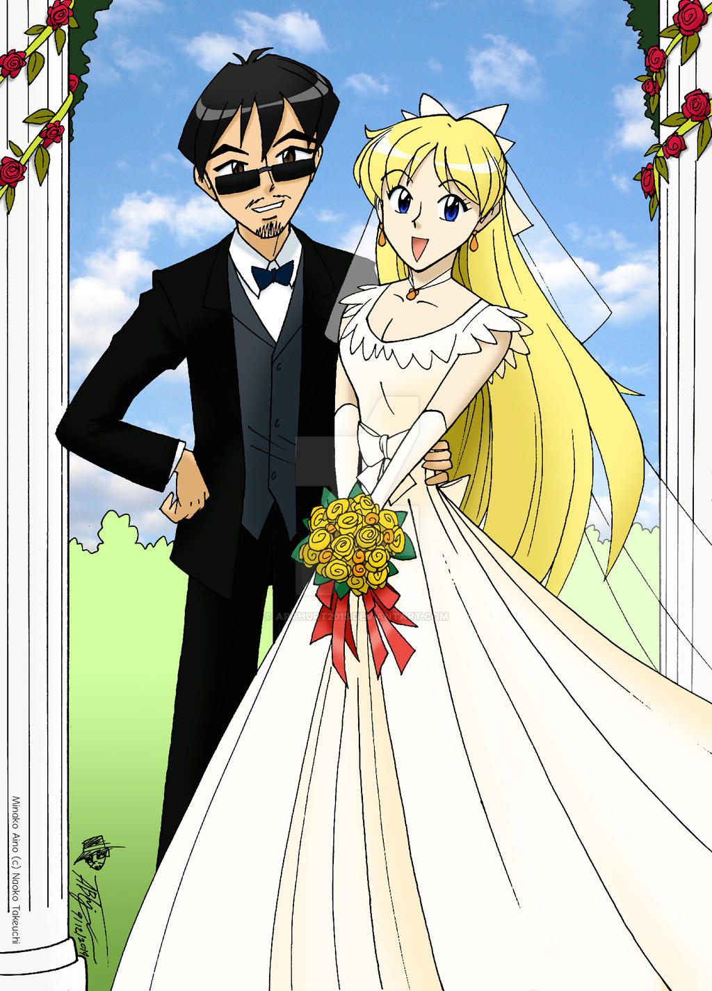 arthur and mina married by arthurt2015 on deviantart