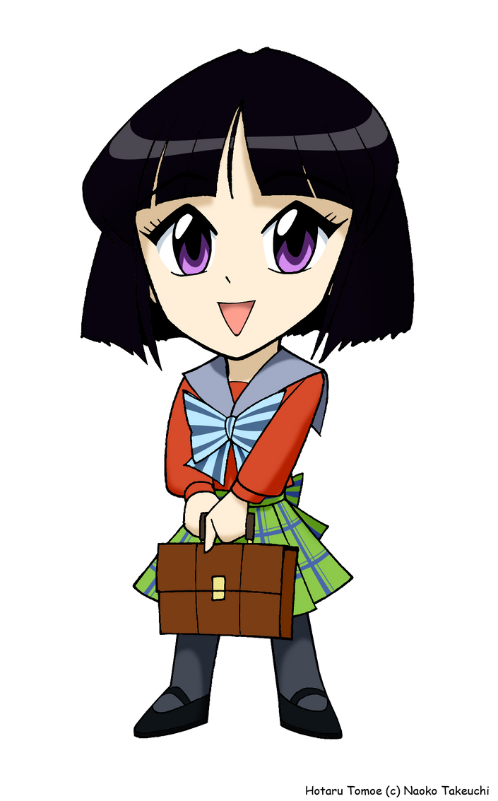 Chibi Hotaru Tomoe by ArthurT2015