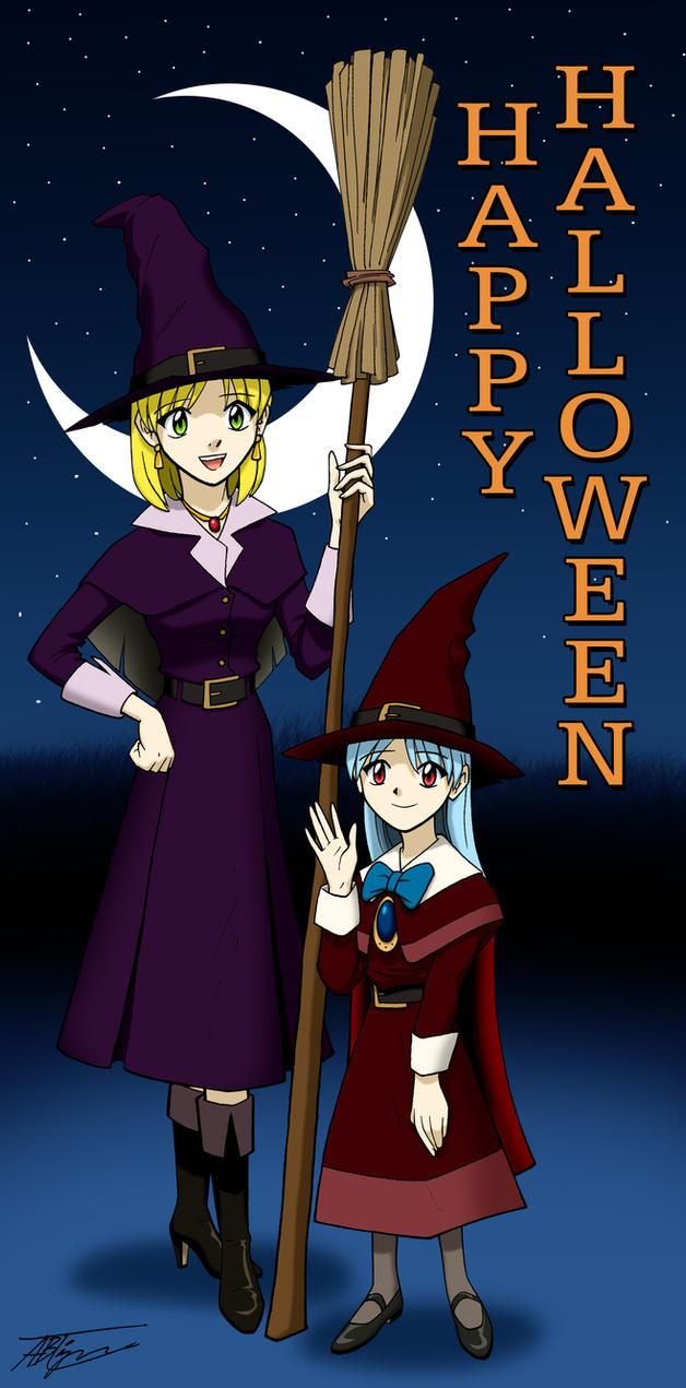 Girl Witches by ArthurT2013